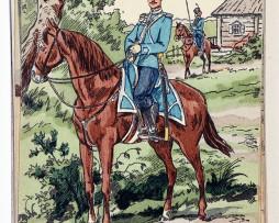 Régiment des cosaques de la Garde de S.A.I le Gd duc heritier - 1914 - Dmitroff