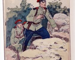 Régiment Korniloff - 1919 - P.V. Robiquet