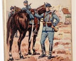 Chasseurs à Cheval - 1918 - Pierre Albert Leroux