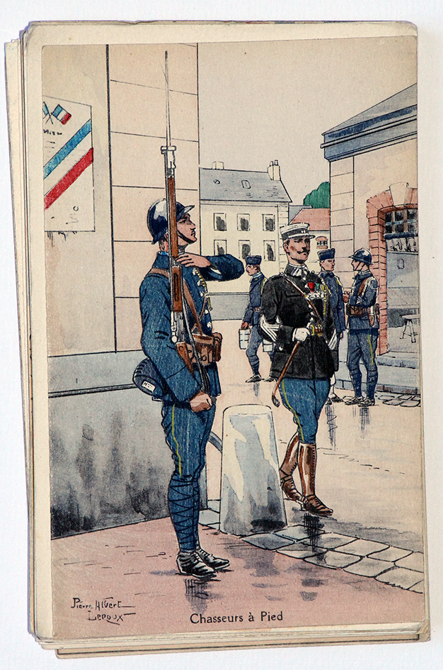 Chasseurs à Pied Officier - Pierre Albert Leroux