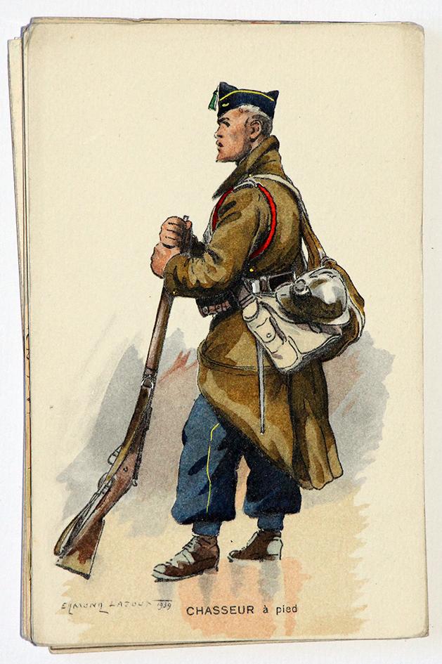 Chasseurs à Pied 39/45 - Edmond Lajoux