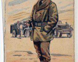 Armée Française de la libération Infanterie Coloniale 1945 - Edmond Lajoux