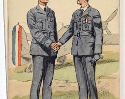 Armée Anglaise Aviateurs - 1939 - Maurice Toussaint