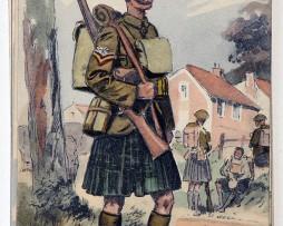 Armée Anglaise Highlander - 1939 - Maurice Toussaint