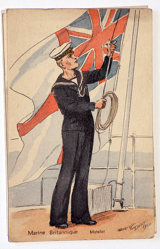 Armée Anglaise Matelot - 1939 - Maurice Toussaint