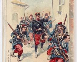 Armée Française en campagne Infanterie 1914 - Weick