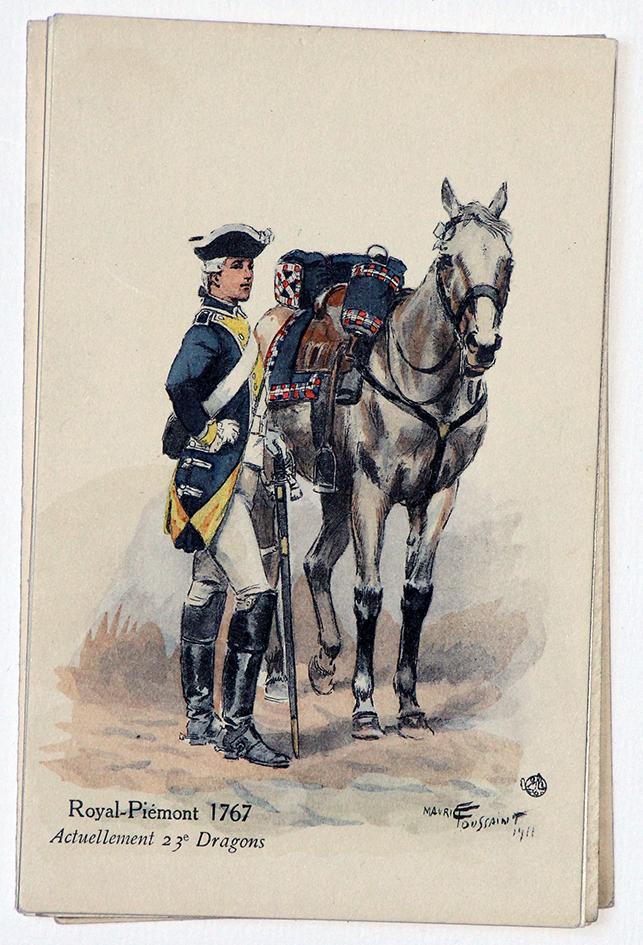 Cavalerie Royal Piemont 1767 - Maurice Toussaint