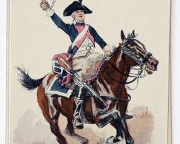 Cavalerie 14 Régiment 1791- Maurice Toussaint