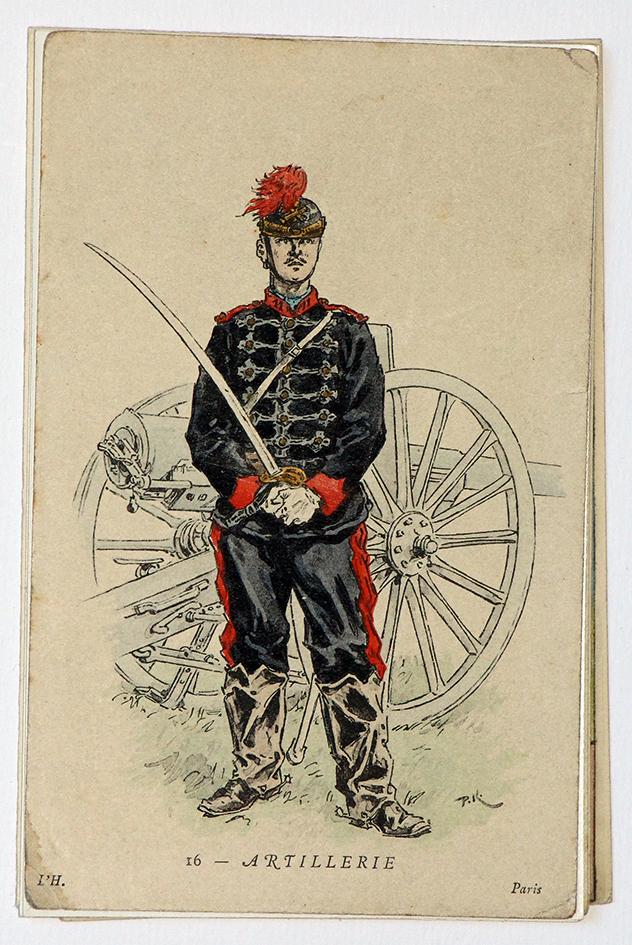 Uniforme Artillerie 1880 - Kauffmann