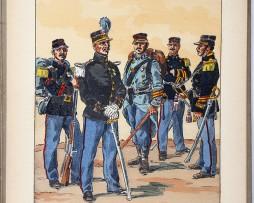 Le passepoil année 1936/1 - Bucquoy - Uniformes Armée Française