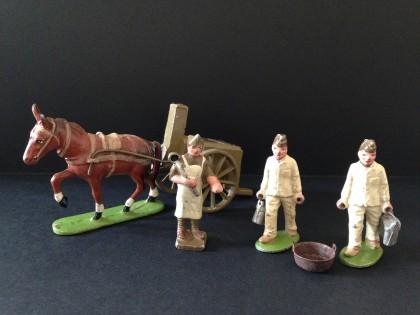 Figurines Quiralu, souvenir d'enfance, souvenir de France.