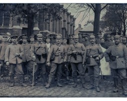 Carte photo Groupe Soldats Prussiens Badois - 1914/1915
