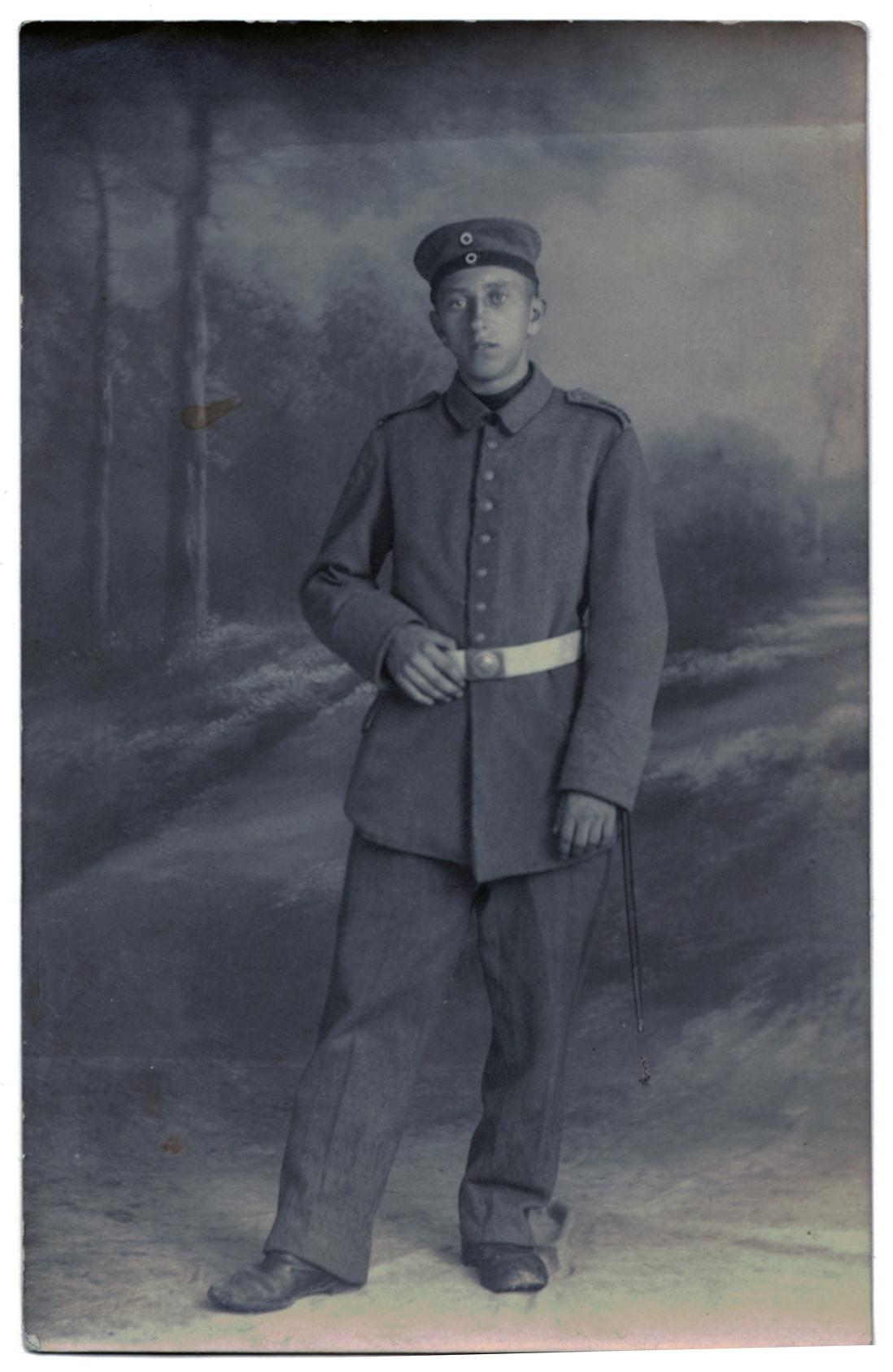 Carte photo Soldat Prussien - 1914/1915