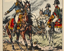 Oudinot à Friendland - Illustration de Victor Huen - 1er Empire - Uniformes