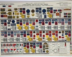 Planches sur les uniformes de l'armée Française Seconde Guerre Mondiale