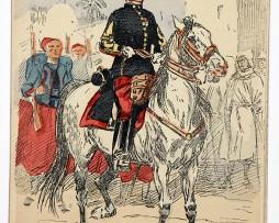 Zouaves Chef de bataillon - Uniformes - Maurice Toussaint