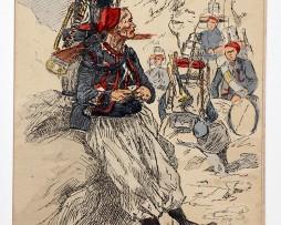 Zouaves Clairon tenue d'expédition - Uniformes - Maurice Toussaint