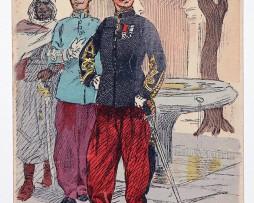 Zouaves Lieutenant grande tenue - Uniformes - Maurice Toussaint