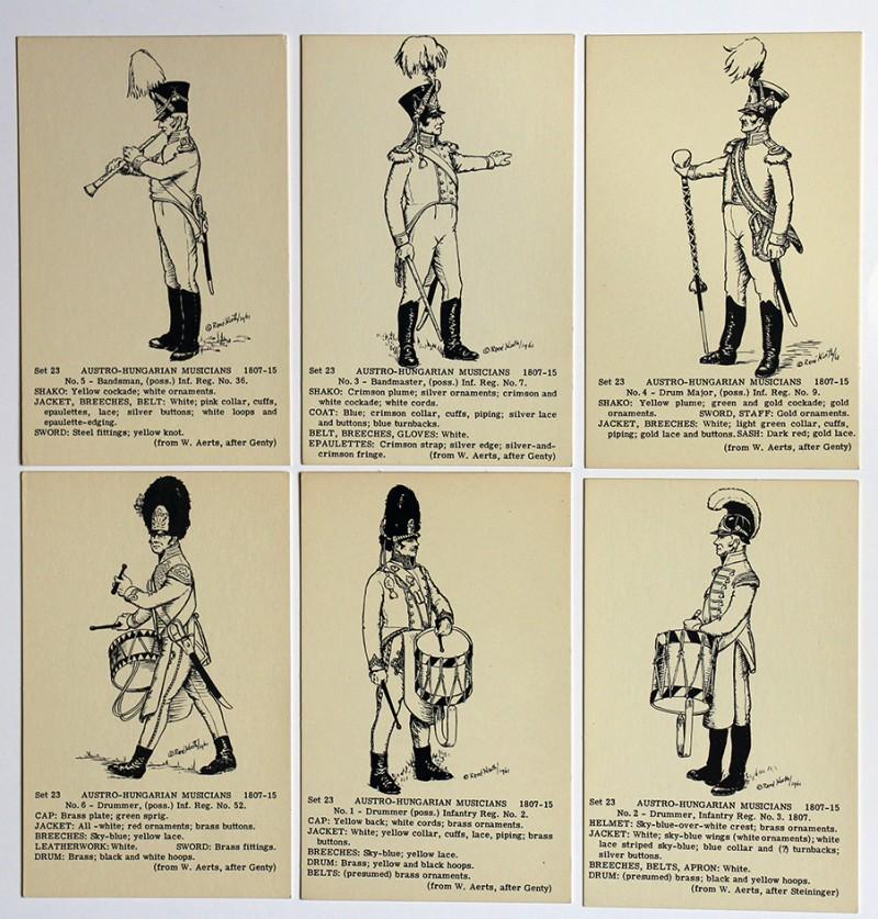 Austro Hungarian Musicians - René North - Paint your own - Uniforme 1807-1815