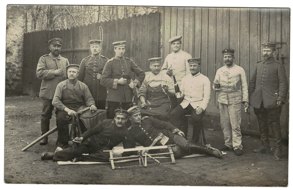 Carte photo Soldat Allemand 1914/1918
