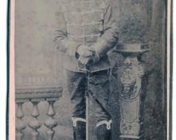 CDV Soldat Prussien 1895 - Hussard - Mainz