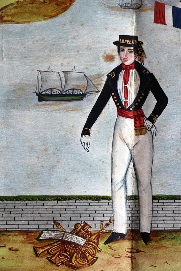 Marine 1835 France uniforme