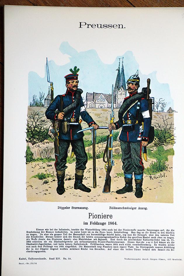 Lot de 10 planches Heere der Vergangenheit - Olmes - Uniforme - Divers