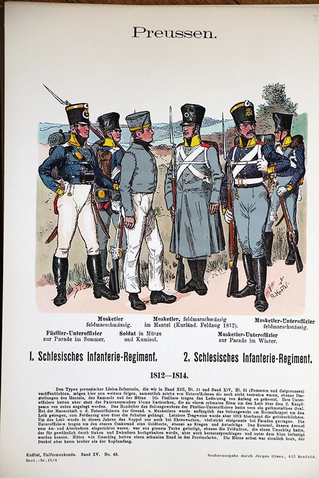 Planches Uniformes Armées Premier Empire