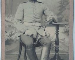 CDV Soldat Prussien 1895 - Cavalier - Hofgeismar