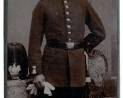 CDV Soldat Prussien 1895 - Berlin - Casque Garde