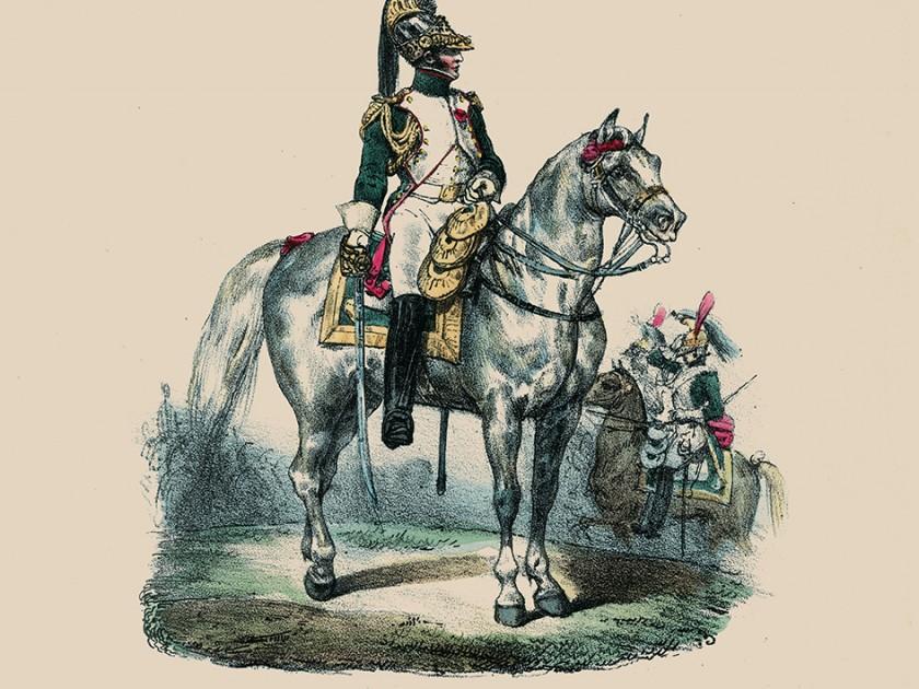 Eugène Lami et la collection des uniformes des armées Française 1789-1824