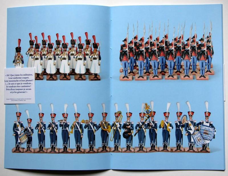 Petits Soldats De Strasbourg - Régiment de Papier - Musée Historique de Strasbourg
