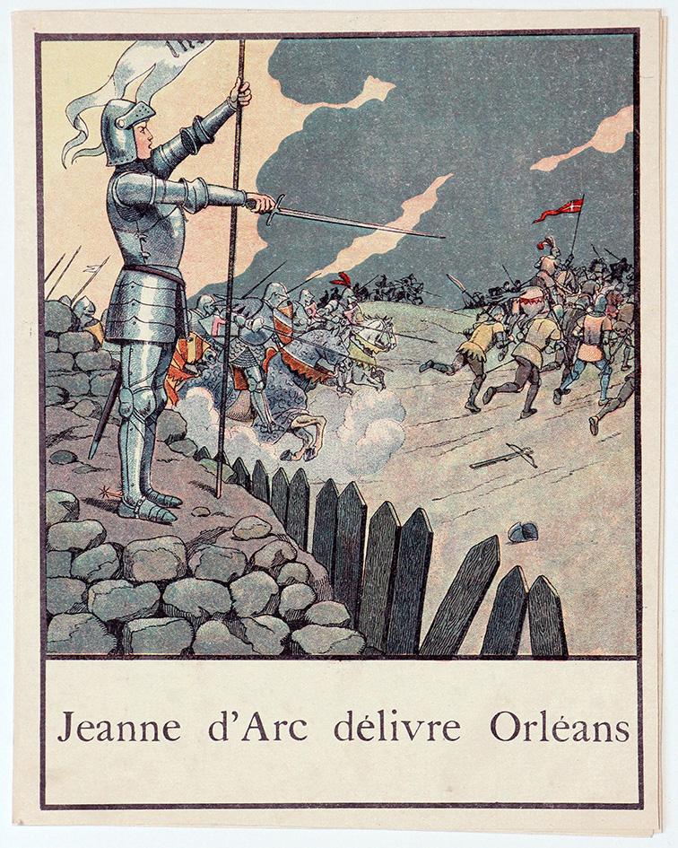 Gravures Histoires de France par JOB - Illustrations livre historique - Armée française
