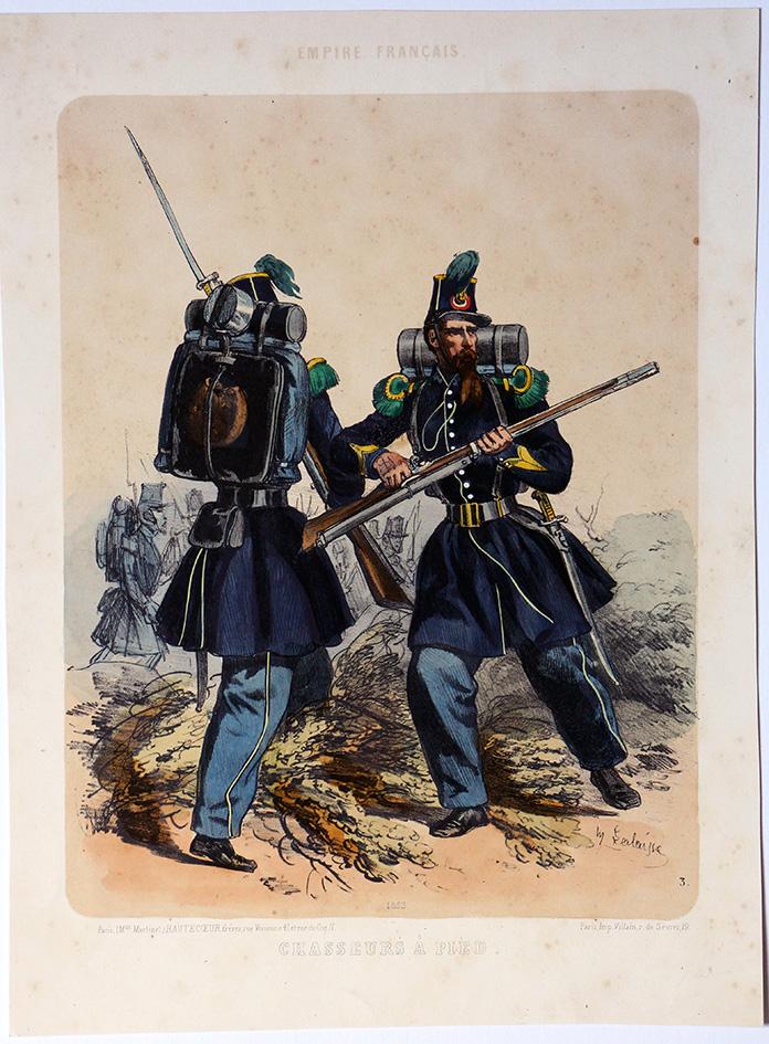 Garde Impériale Second Empire Chasseur à Pied - François Hippolyte Lalaisse