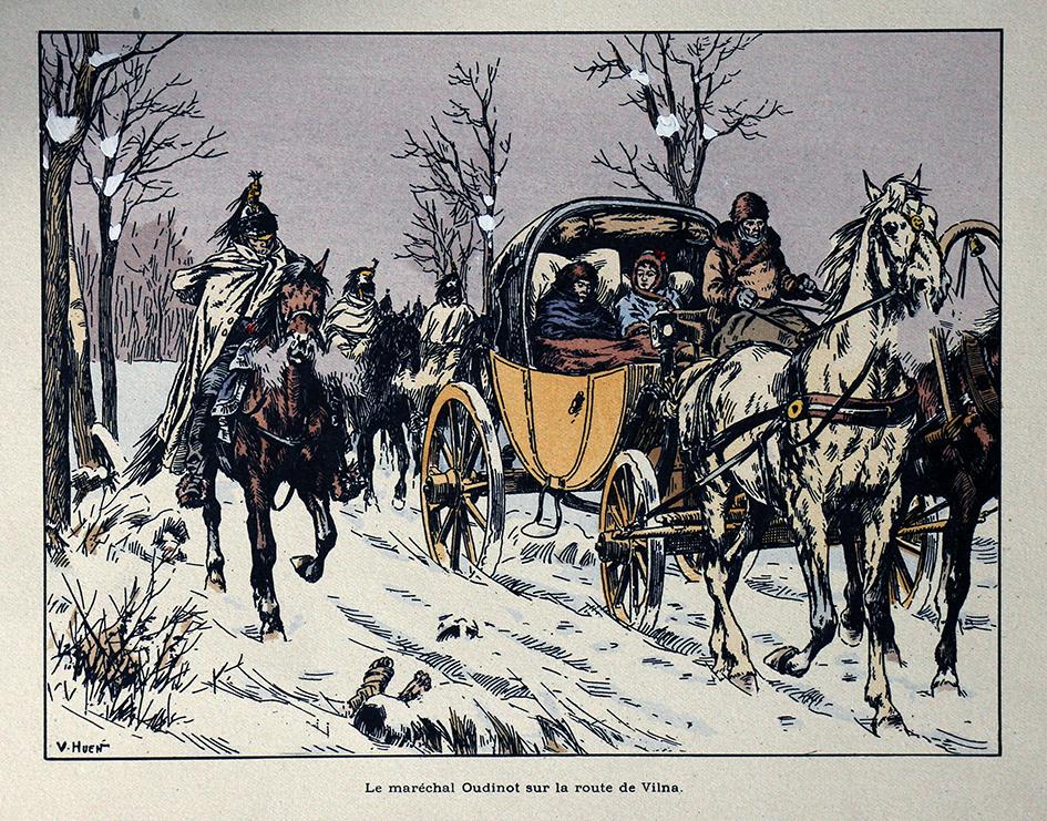 Oudinot - Illustration de Victor Huen - 1er Empire - Uniformes