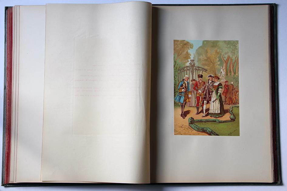 Costumes des Régiments et des Milices recrutés dans les anciennes provinces d'Alsace et de la Sarre. Les Républiques de Strasbourg et de Mulhouse. La Principauté de Montbéliard et le Duché de Lorraine pendant les XVIIe et XVIIIe siècles.