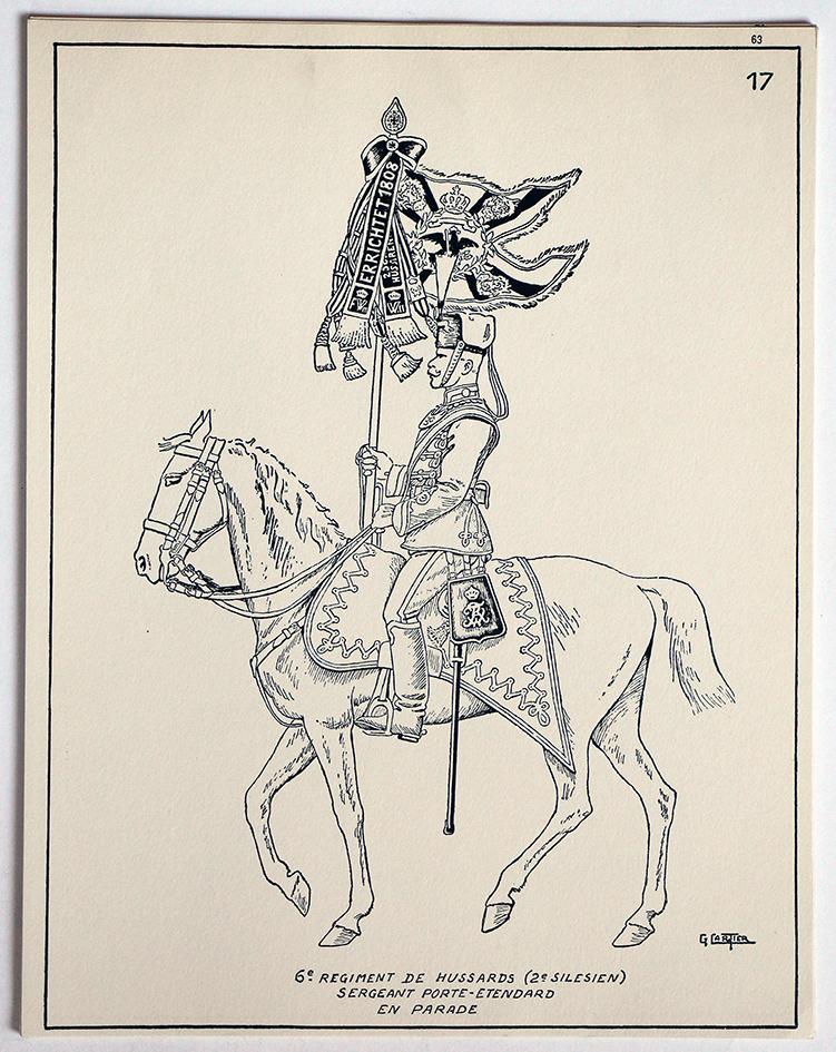 Société des Collectionneurs de Figurines Historiques - 1960 - Les Hussards Allemands en 1914 - G.cartier