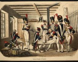 Garde Impériale Poste de Garde, premier Empire