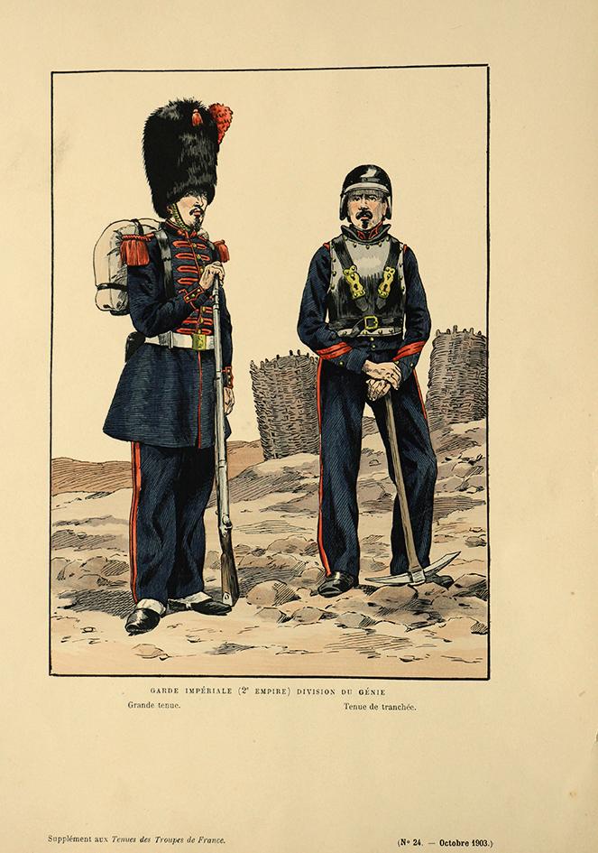 Garde Impériale 2nd Empire Sapeur
