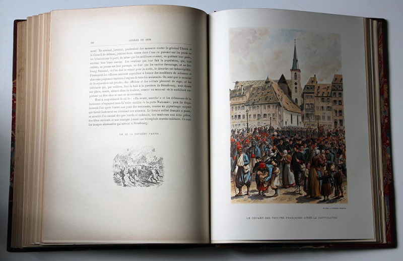 Illustré d'aquarelles et de dessins par E. SCHWEITZER (48 gravures, 44 portraits, 34 planches hors-texte en couleurs dont 26 en chromolithographie).