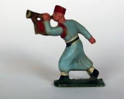 Figurines turcos a la charge - Plastique année 50 - Sans marque
