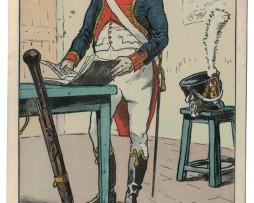 Carte Bucquoy - Les Uniformes du 1er Empire - Le 63e de Ligne 85 série - Carte 2