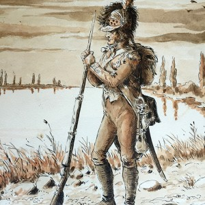 Infanterie Légère 1er Empire Garde du Rhin