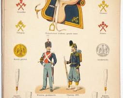 Lienhardt et Humbert - Uniformes de l'armée Française - TIII - Planche 61 - Garde Impériale Napoléon III