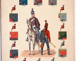 Lienhardt et Humbert - Uniformes de l'armée Française - Les Hussards 1802