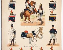 Lienhardt et Humbert - Uniformes de l'armée Française - TomeII - Pl20 - Les Cuirassiers 1812