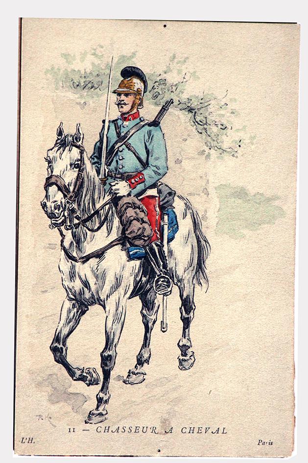 Chasseur à Cheval 1890 - Kauffmann