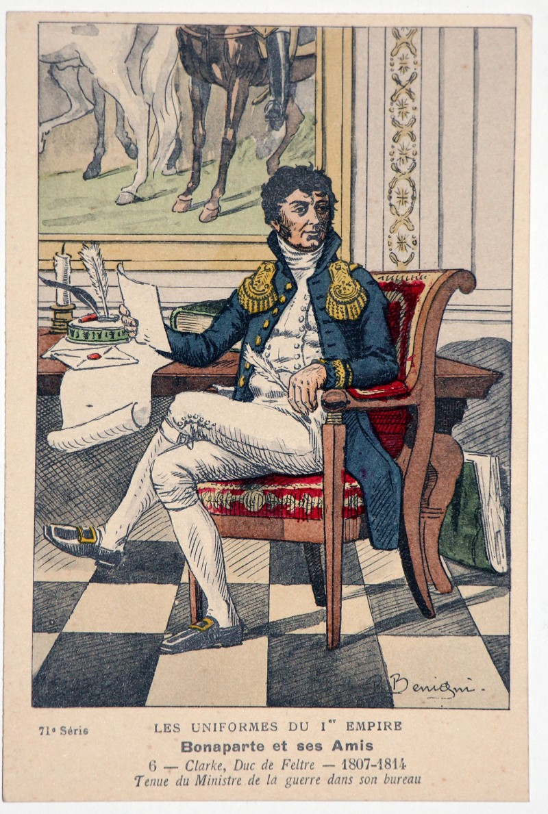Carte Bucquoy - Les Uniformes du 1er Empire - Série 71 - Carte 6