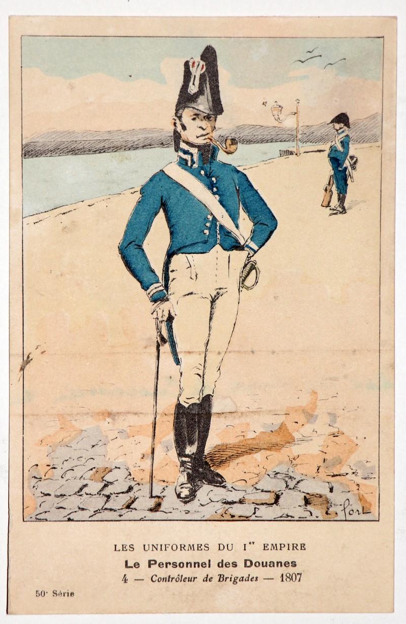 Carte Bucquoy - Les Uniformes du 1er Empire - Série 50 - Carte 4
