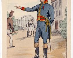 Carte Bucquoy - Les Uniformes du 1er Empire - Série 59 - Carte 5